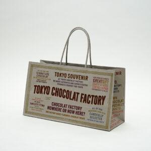 カラフルな印刷で可愛い紙袋