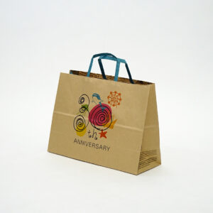 フルカラーのイラストが可愛い紙袋
