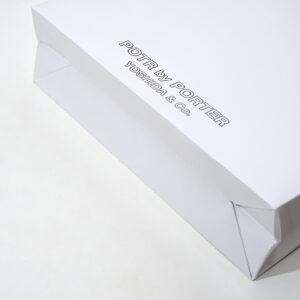 紙袋の底面