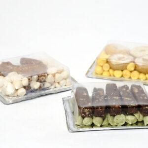 お菓子を見せるパッケージ