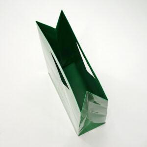 内と底面まで印刷された紙袋