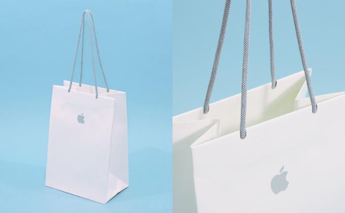 アップルのサスティナブル紙袋