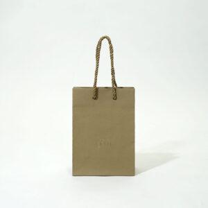 ニュアンスカラーの紙袋