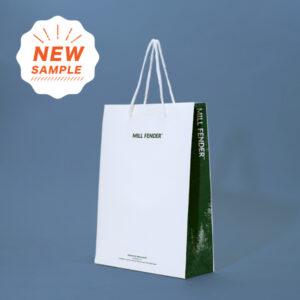 新しいエコノミーバッグのサンプル紙袋