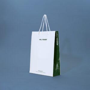 斜めから見たサンプル紙袋