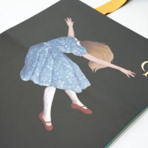 印刷でイラストデザインの紙袋