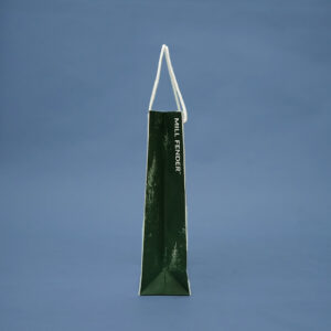 横から見たサンプル紙袋