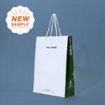 かっこいいエコノミーバッグの紙袋サンプル「MILL FENDER」
