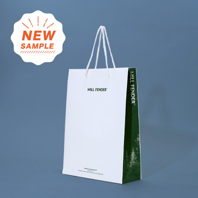 コスパが良くてかっこいい紙袋サンプル「MILL FENDER」を読む