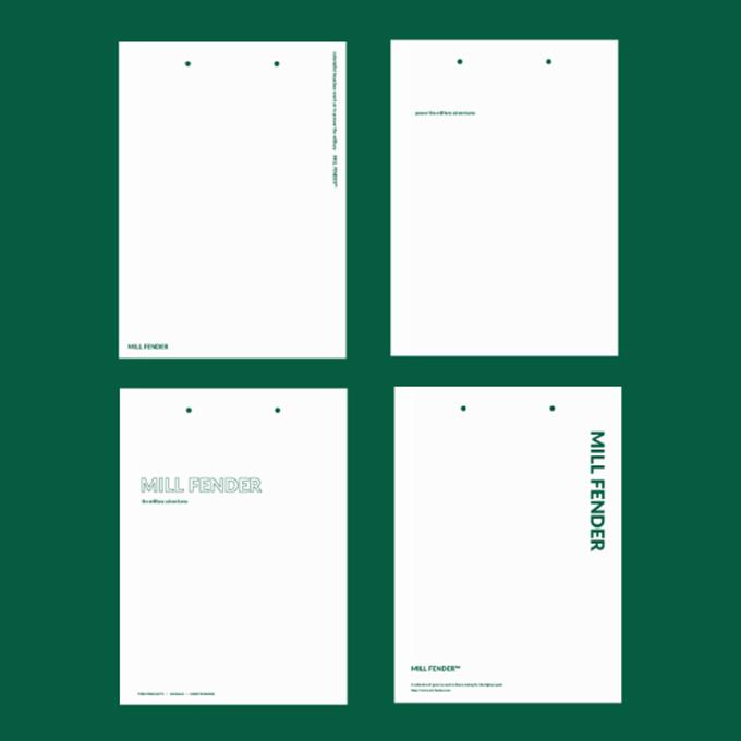 ロゴやテキストがメインの紙袋デザイン