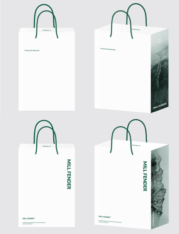 他の写真を使った紙袋のデザイン