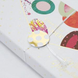 玉紐がついたデザインボックス