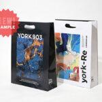 フルカラー印刷が鮮やかな紙袋「YORK903」を読む