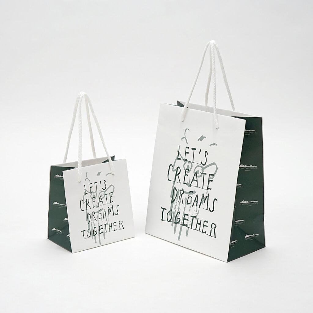 六甲山が思い浮かぶ紙袋0