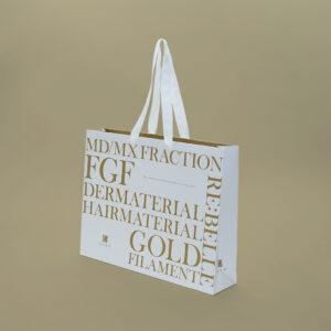 ゴールド印刷とマットPPラミネート